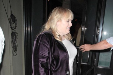 Rebel Wilson Rebel Wilson Dines Out At Craigs