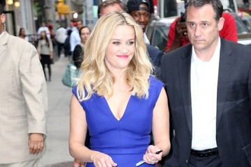 Reese Witherspoon Reese Witherspoon Visits the 'Late Show With David Letterman'