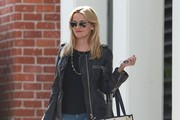 Reese Witherspoon Leaving Her Office in Beverly Hills