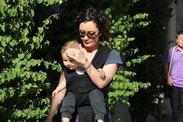 Rhodes Gilbert Perry Sara Gilbert Spends Time with Son Rhodes