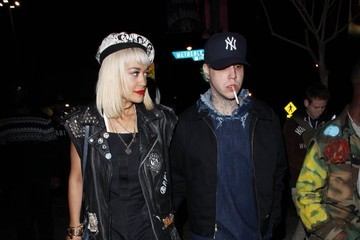 Ricky Hil Stars Leaving The Roxy In West Hollywood