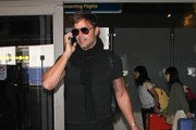 Ricky Martin Touches Down at LAX