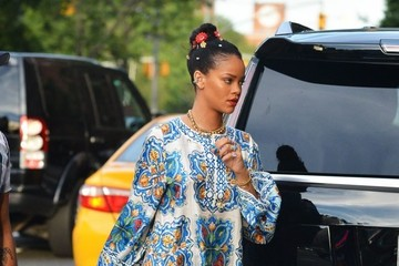 Rihanna Rihanna Heads Out in NYC