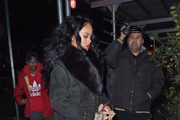 Rihanna Rihanna Out And About In NYC