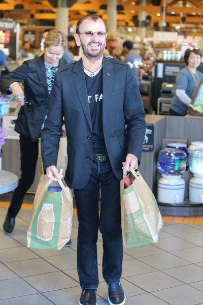 Ringo Starr & Wife Shop in West Hollywood