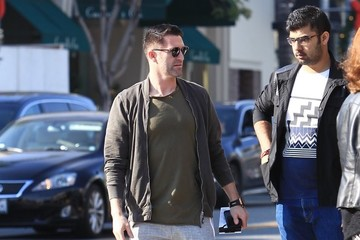 Robbie Keane Robbie Keane Grabs Lunch In Beverly Hills