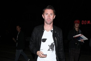Robbie Keane Robbie Keane Enjoys a Night Out in Hollywood