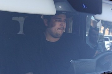 Robert Kardashian Jr. Rob Kardashian Hits the Gym