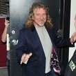 Robert Plant Celebs At The 'Late Show With David Letterman'