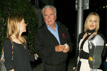 Robert Wagner Celebrities Dine Out At Mr Chow
