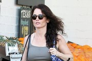 'The Mentalist' actress Robin Tunney stops by Bristol Farms in West Hollywood, California to purchase some groceries on January 16, 2015. Robin and her fiance Nicky Marmet  are current selling their home in Los Feliz for $1,399,000.