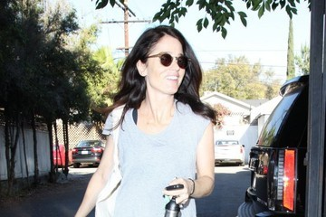 Robin Tunney Robin Tunney Leaves the Gym