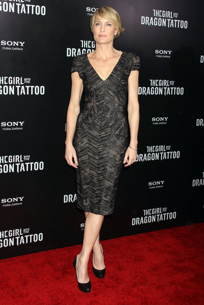 Robin Wright Girl With Dragon Tattoo Robin Wright's dress