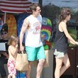 Rocko Clapp Johnny Knoxville & Family Grocery Shopping In Malibu