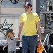 Rocko Clapp Johnny Knoxville Out And About With His Family