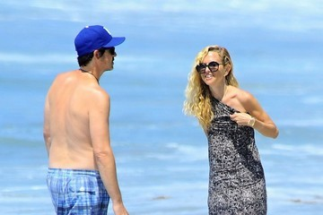 Rodger Berman Rachel Zoe and Family Enjoy a Day at the Beach