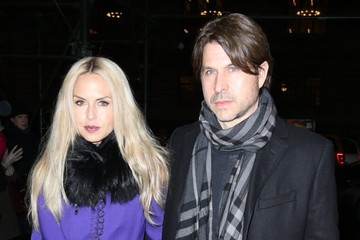 Rodger Berman Rachel Zoe and Rodger Berman Out in NYC