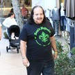 Ron Jeremy Ron Jeremy Visits the Santa House With Two Girls at The Grove