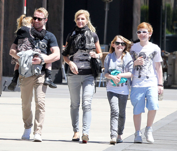 Ronan Keating Out With The Family In Sydney