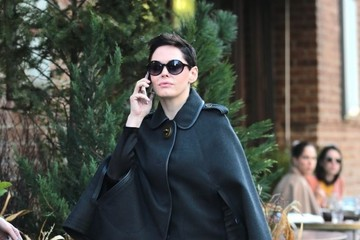 Rose McGowan Rose McGowan Spotted in New York