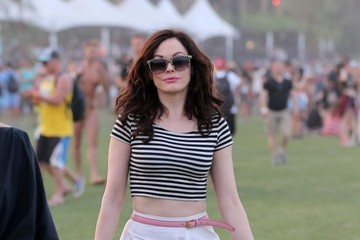 Rose McGowan Coachella Music Festival Day 2