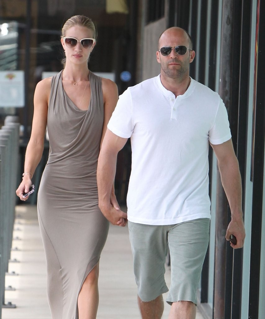 rosie huntington whiteley and jason statham dating Rosie huntington-whiteley and jason statham - in a surprise announcement on instagram, huntington-whiteley revealed she's expecting her first child with fiance jason statham.