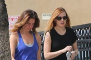 Rumer Willis Stops by Starbucks
