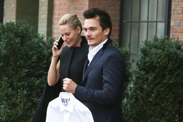 Rupert Friend Rupert Friend and Aimee Mullins Step Out in NYC