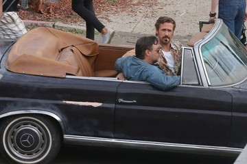 Russell Crowe Ryan Gosling and Russell Crowe Film 'The Nice Guys'