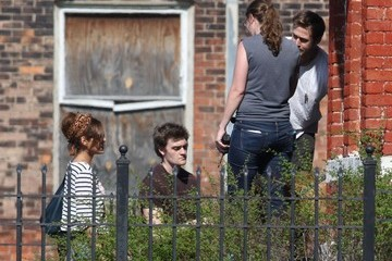 Ryan Gosling Eva Mendes 'How to Catch a Monster' Films in Detroit