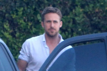 Ryan Gosling Ryan Gosling Leaving A Business Meeting In Los Angeles