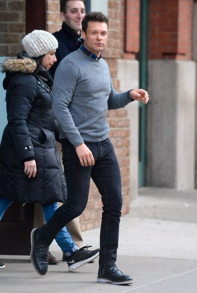 Ryan Seacrest Steps Out in New York []