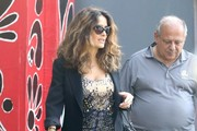Salma Hayek Shops for Furniture