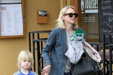 Samuel Schreiber Naomi Watts Takes Samuel Out For Lunch