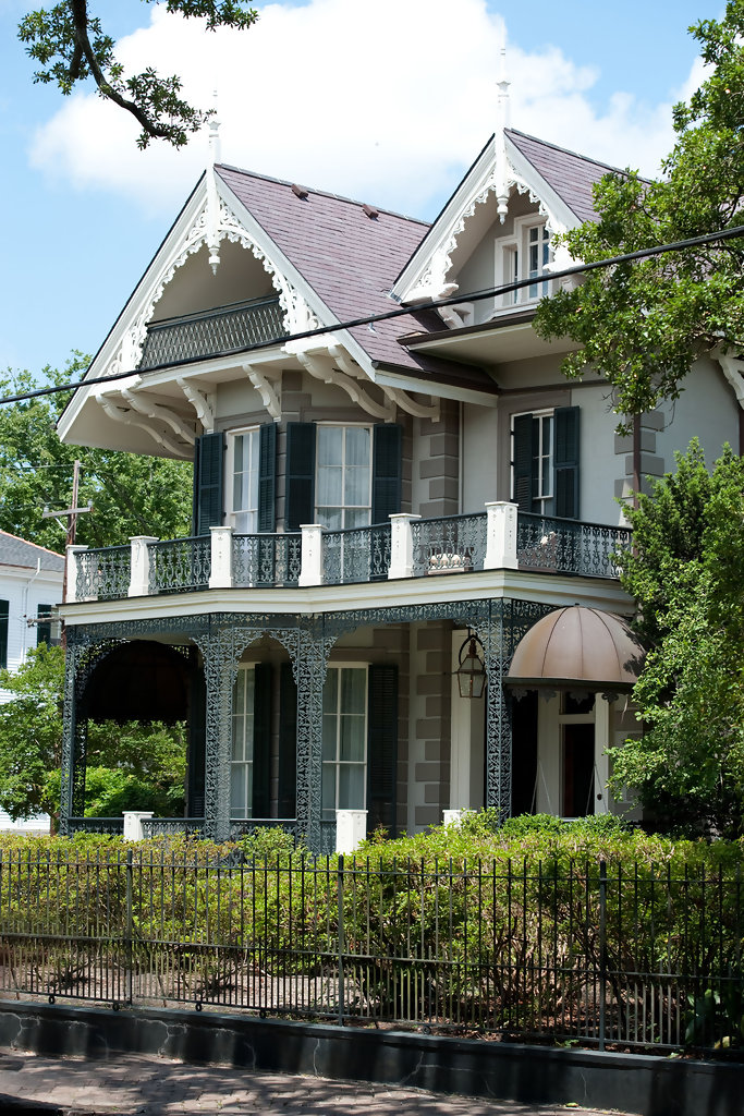 Sandra Bullock S Home In New Orleans Garden District