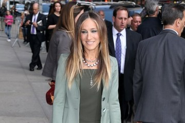 Sarah Jessica Parker Celebs Making An Appearance On The 'Late Show With David Letterman'