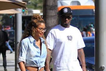 Sean Combs Sean 'P. Diddy' Combs and Cassie Are Spotted Out for Lunch