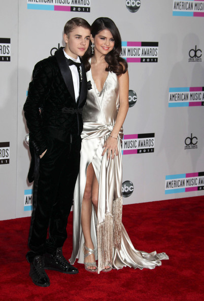 Selena Gomez Celebrities attend the 2011 American Music Awards at the Nokia Theatre L.A. Live in Los Angeles.