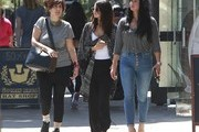 Selena Gomez Lunches with Friends