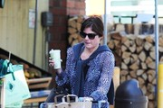 Selma Blair Shops for Groceries
