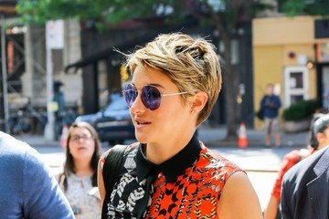 Shailene Woodley Shailene Woodley Keeps Busy in NYC