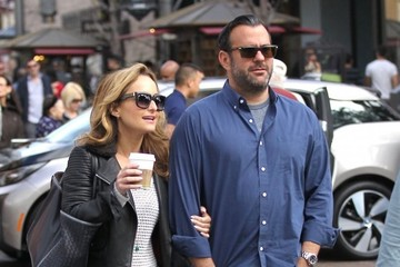 Shane Farley Giada De Laurentiis and Her Family Go Out Shopping at The Grove