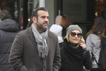 Shane Farley Giada De Laurentiis and Shane Farley Out And About In Soho