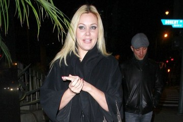 Shanna Moakler Shanna Moakler Out For Dinner At Boa Steakhouse