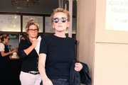 Sharon Stone Shops in Beverly Hills