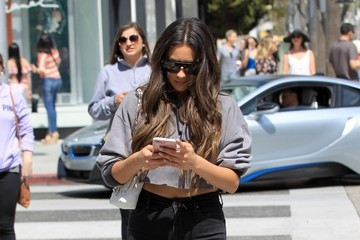 Shay Mitchell Shay Mitchell Goes Out Shopping In Beverly Hills