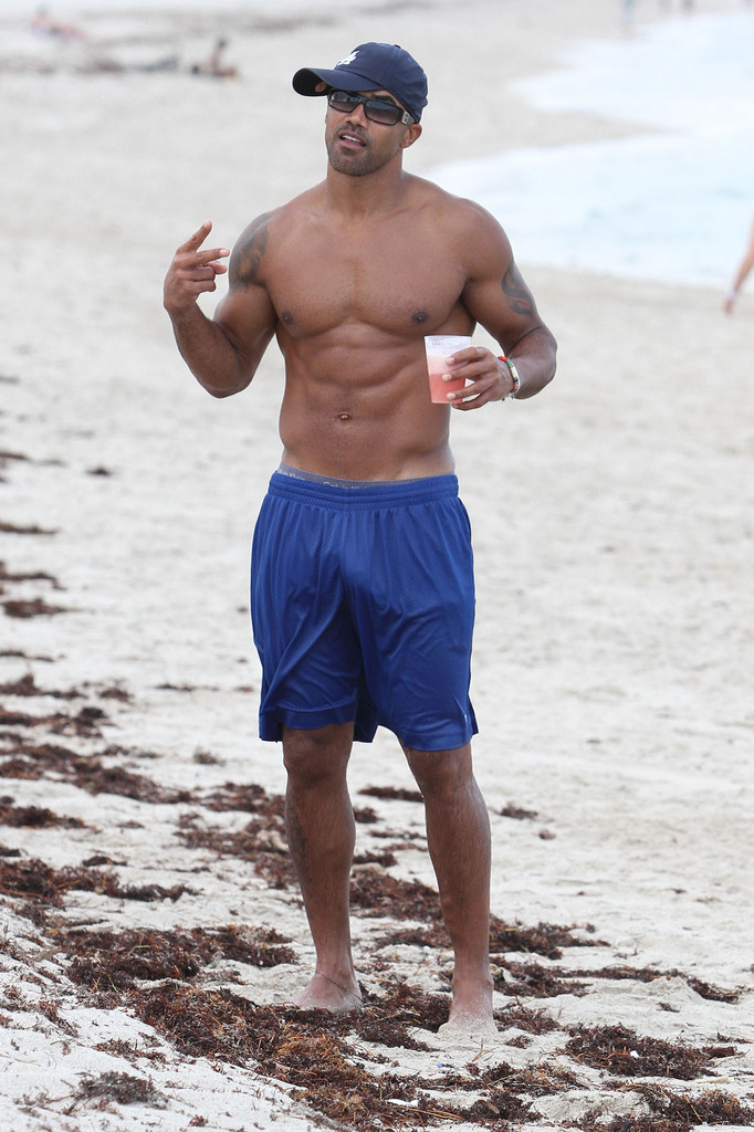 Shemar moore naked on beach any