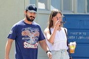 Shia LaBeouf & Mia Goth Out For Lunch At Lemonade