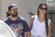 Shia LaBeouf & Mia Goth Stop By A Church In West Hollywood