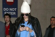 Kendall Jenner Lands at LAX